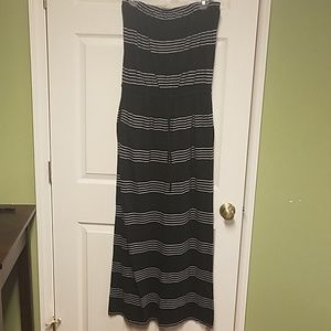 Banana Republic Strapless Maxi Dress Medium